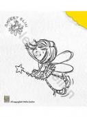 Nellie Snellen - Sweet Elin Clear Stamp - Star - SWE001